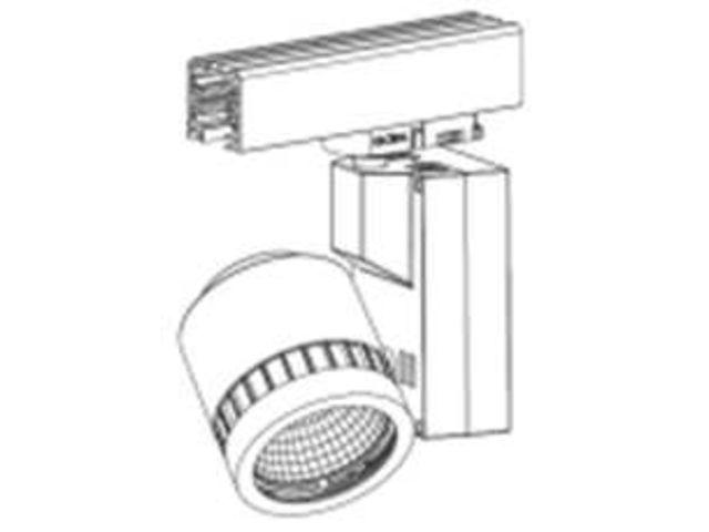eclairage int rieur projecteur sur rail 3240lm contact. Black Bedroom Furniture Sets. Home Design Ideas