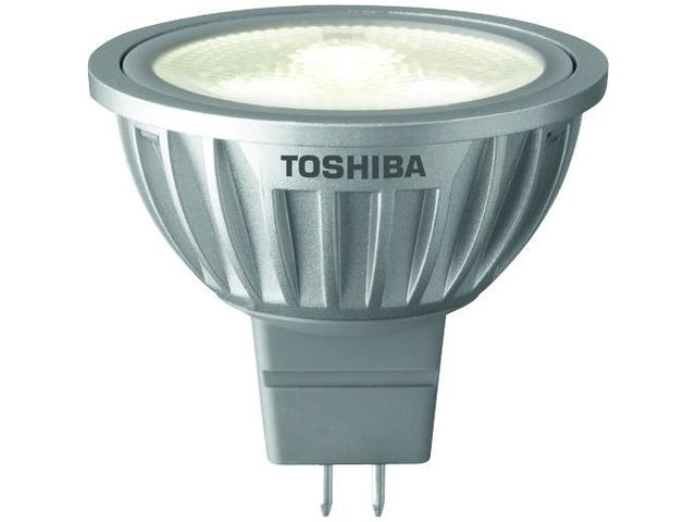 eclairage led spot toshiba e core 4w gu5 3 contact. Black Bedroom Furniture Sets. Home Design Ideas