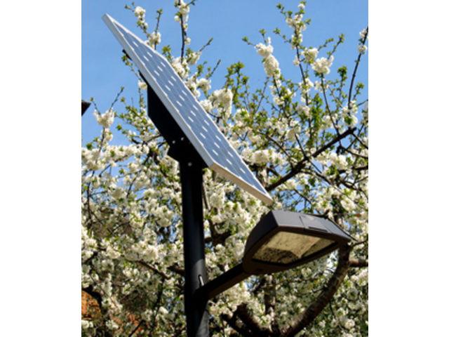eclairage public solaire photovolta que contact energie. Black Bedroom Furniture Sets. Home Design Ideas