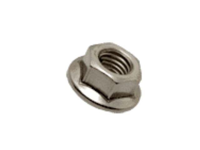 2 pièces Ecrous Moletés Haut M2.5 DIN 466 acier Inox 1.4305