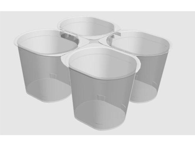 emballage operculable quatre compartiments pour vos yaourts fromages blancs plats pr par s. Black Bedroom Furniture Sets. Home Design Ideas