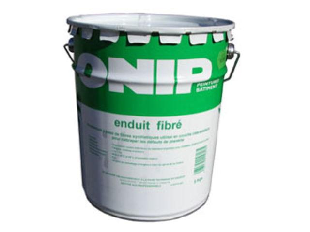 Enduit acrylique fibr contact peintures onip for Enduit acrylique exterieur