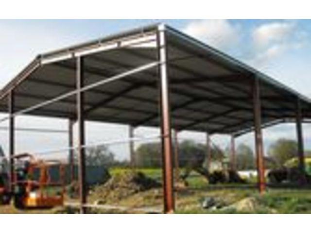 Construction garage structure metallique for Prix d une charpente metallique