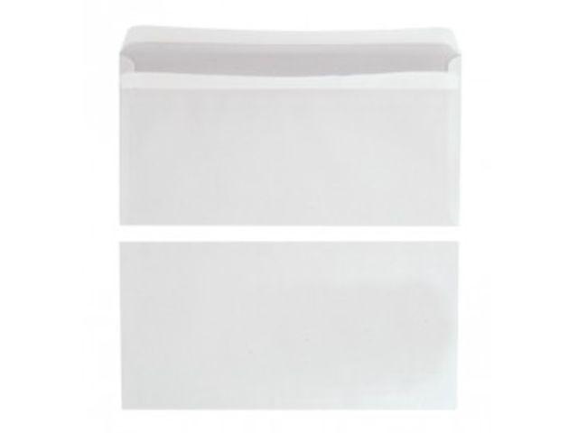 enveloppe budget blanche 114x162 sans fen tre 80g boite. Black Bedroom Furniture Sets. Home Design Ideas
