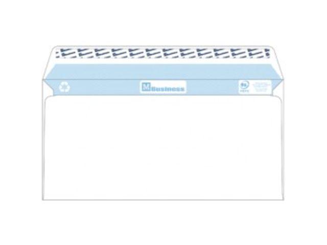 enveloppe business blanche 110 x 220 sans fen tre 80 gr. Black Bedroom Furniture Sets. Home Design Ideas