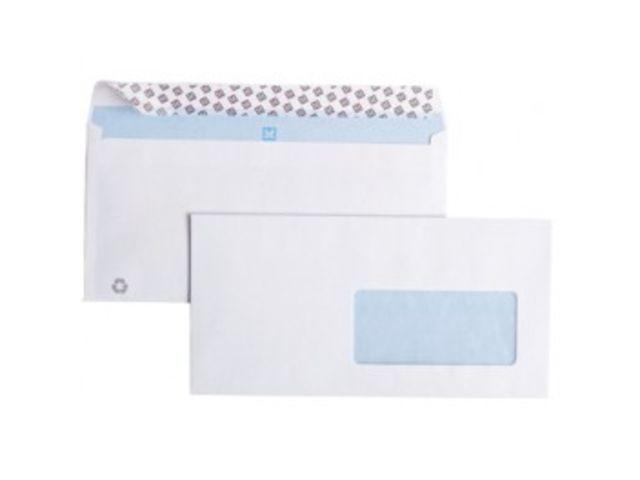 Enveloppe La Couronne Blanche 114x162 Sans Fenétre 90 Gr Boite 500