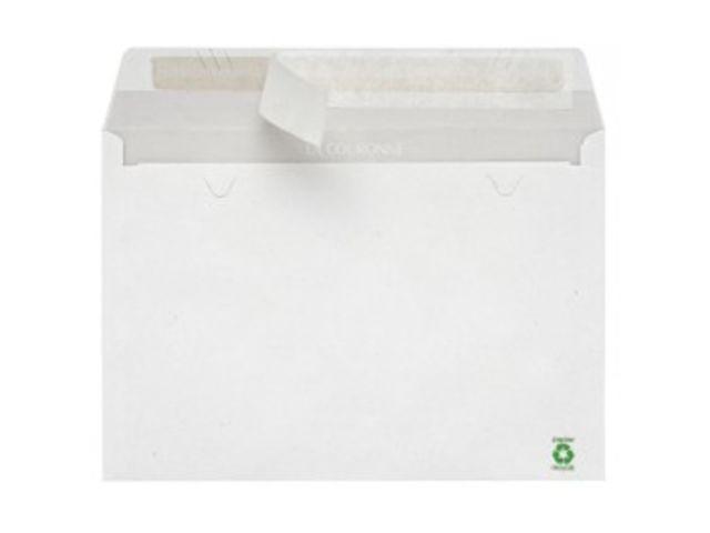 enveloppe recycl e blanche 114 x 162 sans fen tre 80 gr. Black Bedroom Furniture Sets. Home Design Ideas
