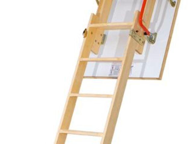 escalier escamotable ldk de deux segments contact fakro france. Black Bedroom Furniture Sets. Home Design Ideas