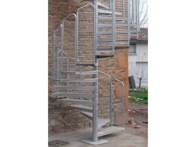 escalier helicoidal code du travail