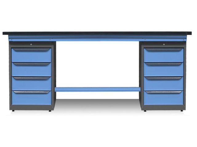 tabli de maintenance avec caissons pieds et tag re. Black Bedroom Furniture Sets. Home Design Ideas