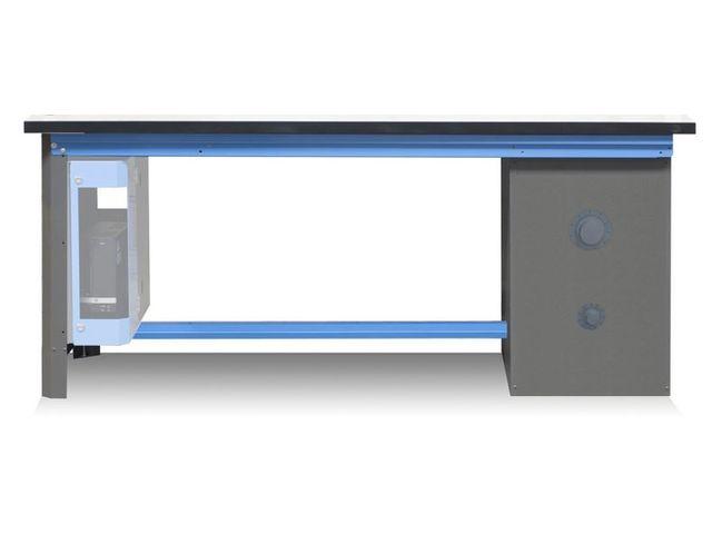 tabli de mesure avec tag re stratifi contact armabo. Black Bedroom Furniture Sets. Home Design Ideas