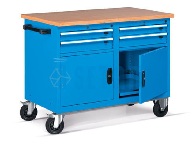 etabli d 39 atelier roulant fournisseurs industriels. Black Bedroom Furniture Sets. Home Design Ideas