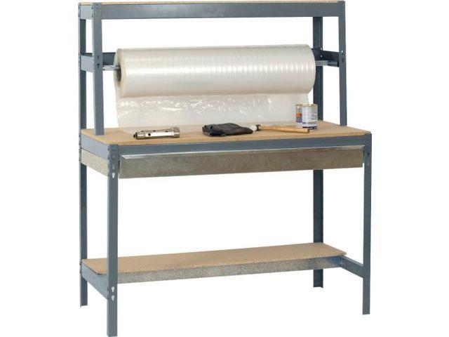 etabli table d 39 emballage avec tiroir de rangement contact rangestock. Black Bedroom Furniture Sets. Home Design Ideas