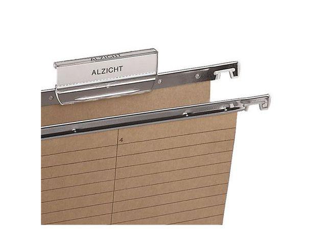 tiquette pour dossier suspendu pour tiroir contact manutan. Black Bedroom Furniture Sets. Home Design Ideas