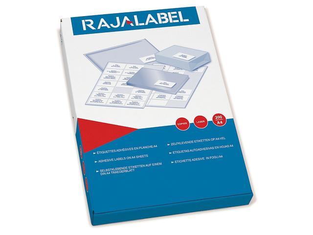 etiquettes en planches a4 pour impression laser rajalabel contact raja. Black Bedroom Furniture Sets. Home Design Ideas