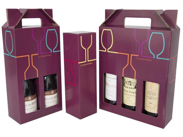 etui carton pour bouteilles en verres contact bba emballages. Black Bedroom Furniture Sets. Home Design Ideas
