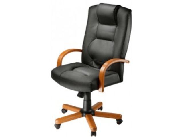 fauteuil de bureau cuir direction laguna extra contact mon bureau et moi. Black Bedroom Furniture Sets. Home Design Ideas