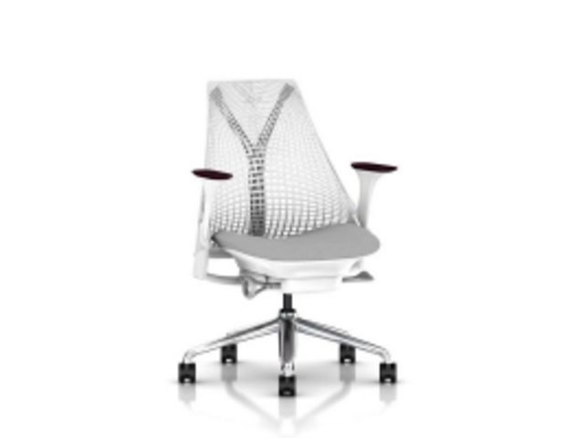 fauteuil sayl herman miller structure blanche contact. Black Bedroom Furniture Sets. Home Design Ideas