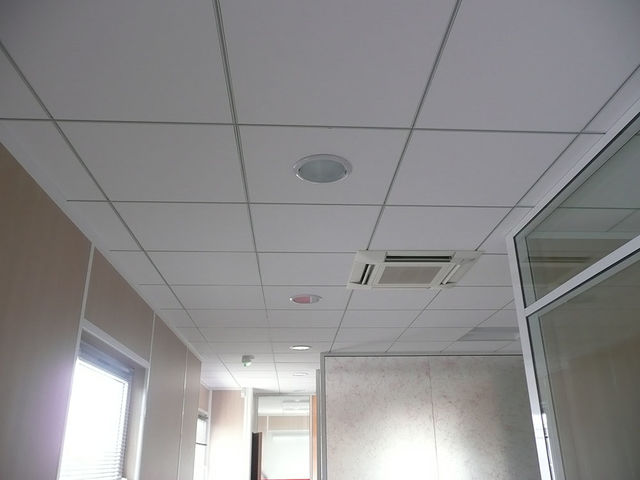 Faux plafonds fournisseurs industriels for Plafond suspendu dalles