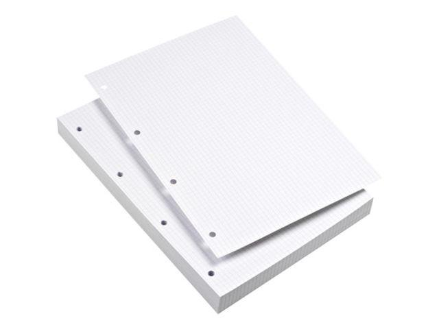 EXACOMPTA Lot de 2 Etuis de 100 fiches BRISTOL 210x297 A4 Blanc Uni
