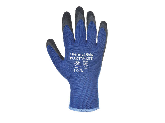 Gants latex anti-froid Portwest A140 - Oxwork