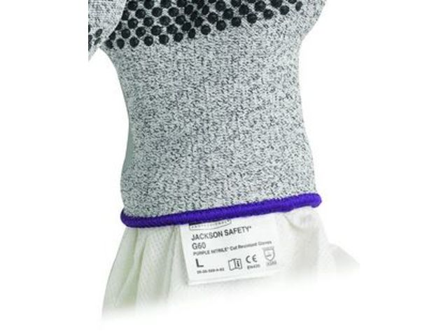 Gants PURPLE NITRILE* Résistant à la coupure JACKSON SAFETY* G60 - Niveau 3 - KIMBERLY-CLARK PROFESSIONAL*
