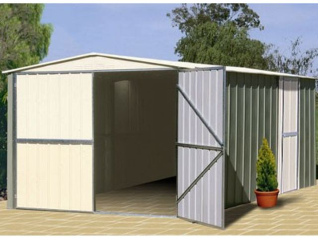 Garage m tal colorbond grande hauteur id504 contact for Hauteur garage