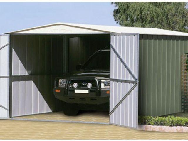 garage m tal colorbond grande hauteur id504 contact france abris. Black Bedroom Furniture Sets. Home Design Ideas