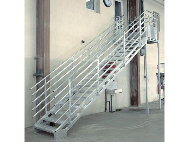 Garde corps ou rampe d escalier contact bombrun les for Etancheite escalier exterieur