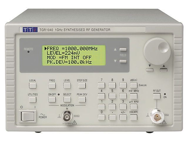 Générateurs RF TTi - Thurlby Thandar Instruments TGR1040