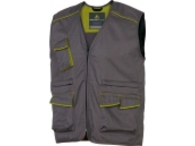 Gilet de travail panostyle/® polyester coton M6GIL Panoply