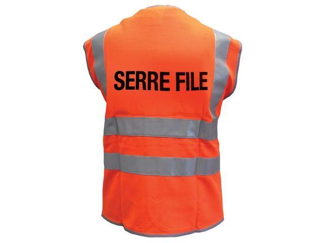 Gilet fluo Serre File
