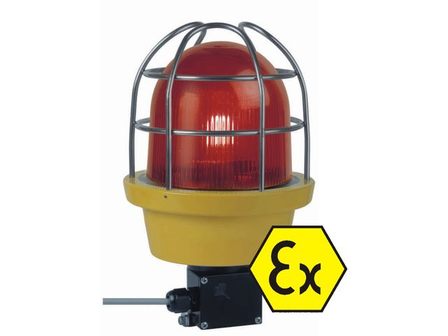 GYROPHARE A LEDS ANTIDEFLAGRANT ATEX