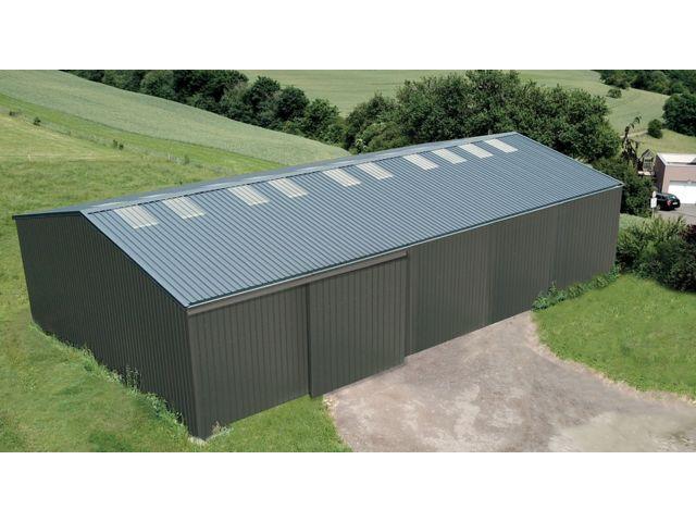 Hangar En Kit Ferme Avec Porte Coulissante Multi Usage Contact Batimentsmoinschers Com