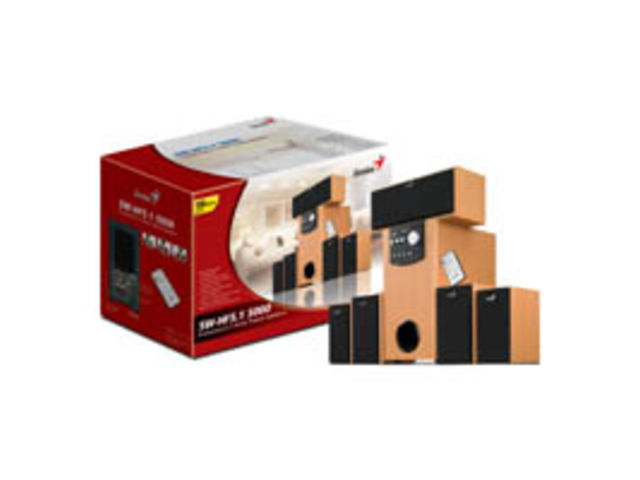 Haut parleurs home cin ma sw hf5 1 5000 beech wood contact genius - Haut parleur home cinema ...