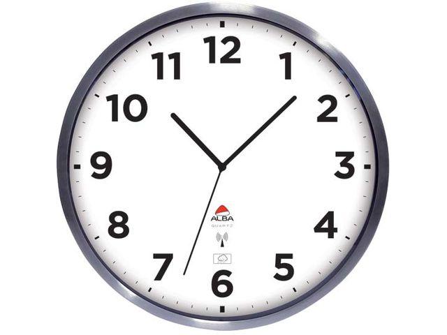 Image D Une Horloge horloge extérieure radio-pilotée 35,5 cm | contact signals