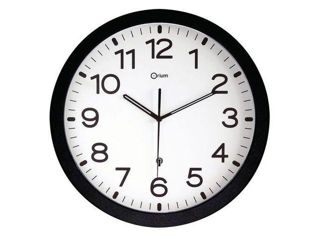 horloge murale classique radio pilot e contact manutan. Black Bedroom Furniture Sets. Home Design Ideas