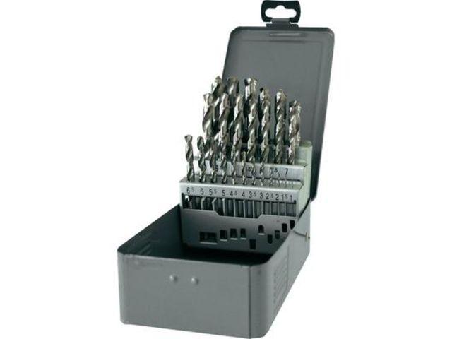 hss set foret spiral pour m tal 25 pi ces toolcraft. Black Bedroom Furniture Sets. Home Design Ideas