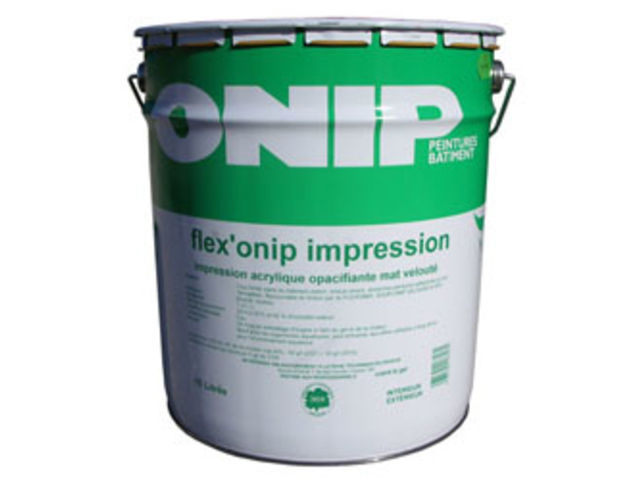 Impression opacifiante : Flex'Onip