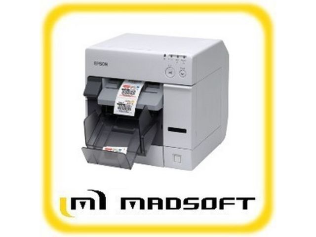 imprimante d 39 tiquettes couleur petits formats contact madsoft. Black Bedroom Furniture Sets. Home Design Ideas