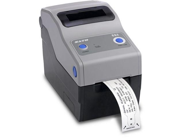 imprimante de bureau compacte cg2 impression sur tiquettes et sur bracelets contact sato. Black Bedroom Furniture Sets. Home Design Ideas