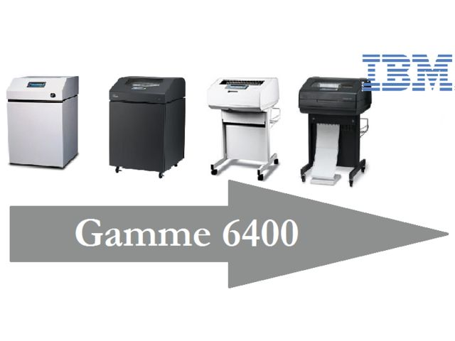 Imprimante matricielle lignes - IBM - IBM 6400_Techniprint Services_4