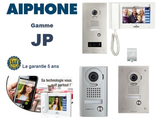interphone filaire interphone audio r sidentiel tertiaire aiphone gamme jp contact. Black Bedroom Furniture Sets. Home Design Ideas