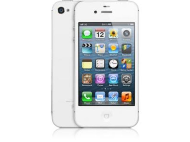 iphone 4s 32go blanc reconditionn contact one direct. Black Bedroom Furniture Sets. Home Design Ideas