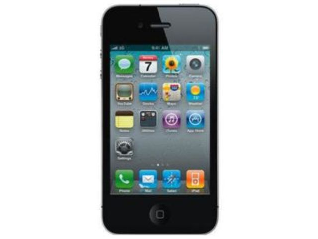 iphone 4s 32go noir reconditionn contact one direct. Black Bedroom Furniture Sets. Home Design Ideas