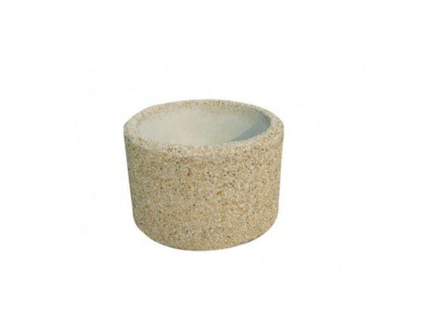 Jardini re en b ton ronde contact net collectivites - Rehausse beton ronde ...