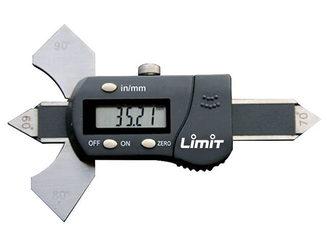 Jauge de soudures digitale 20 mm Limit LKA60DI