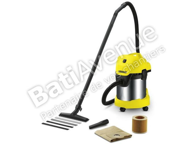 karcher aspirateur eau et poussi re wd3300m 16296500 contact bati avenue. Black Bedroom Furniture Sets. Home Design Ideas