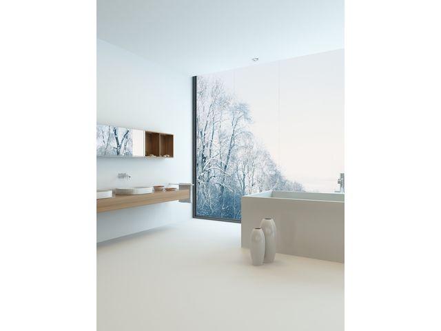 Kit b ton cir sols murs pour cuisine salle de bain terrasse douche baignoire escalier - Beton cire leroy merlin salle de bain ...