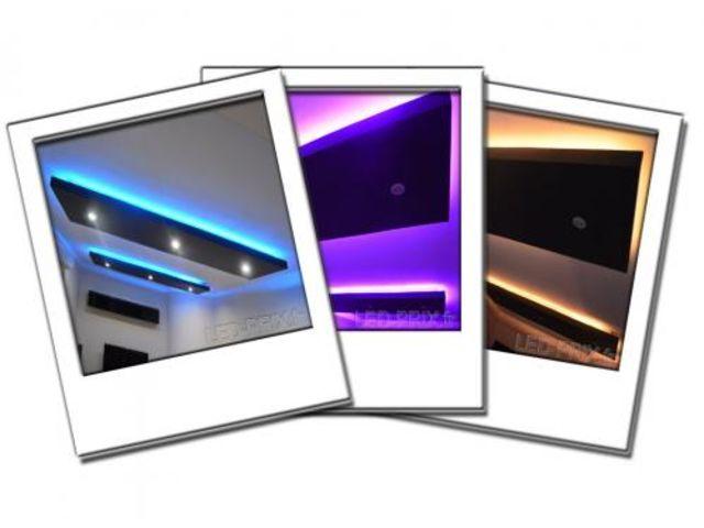 Kit ruban led rgb 5 m tres 150 led multicolore 220v contact sarl led prix com - Ruban led multicolore ...